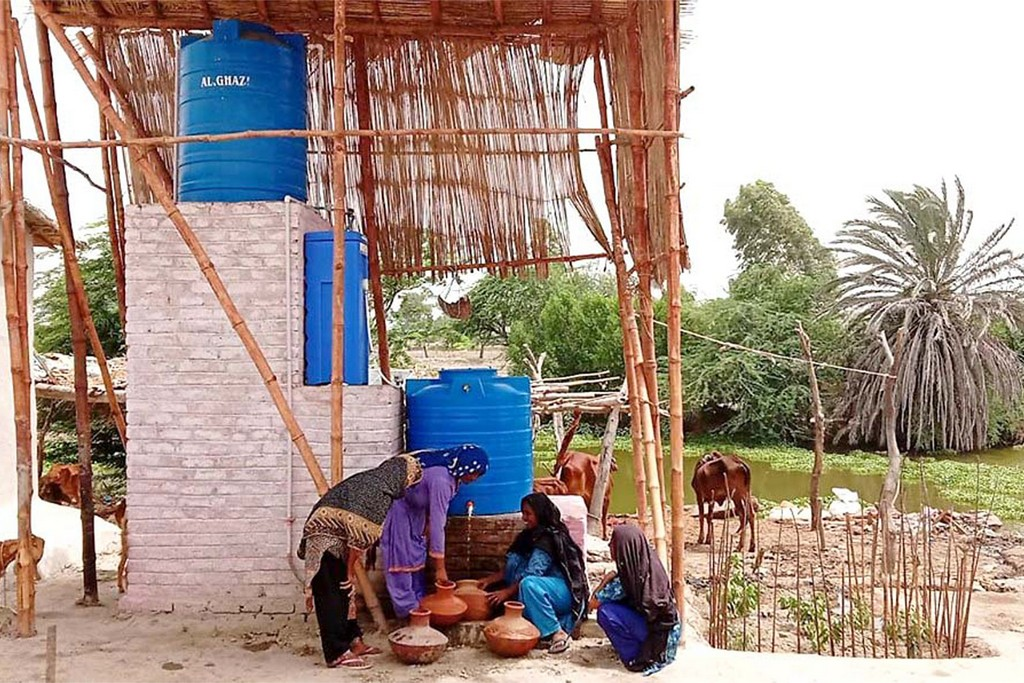 Clean water and proper sanitation services