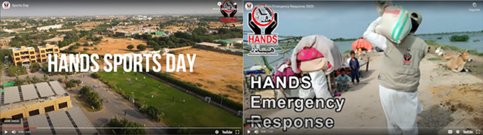 HANDS videos