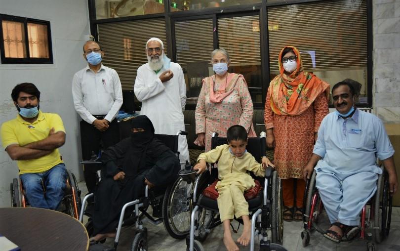 HANDS Board Members Visit to HANDS ILC