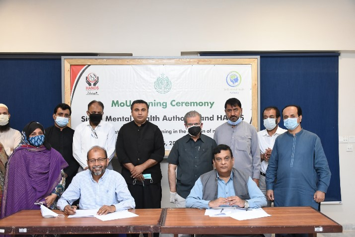 Sindh Mental Health Authority Government of Sindh & HANDS Signed a MoU