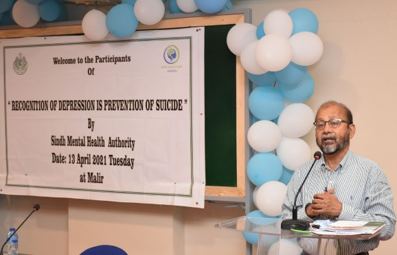 Sindh Mental Health Authority in Collaboration of HANDS Conducted a Seminar for Doctors